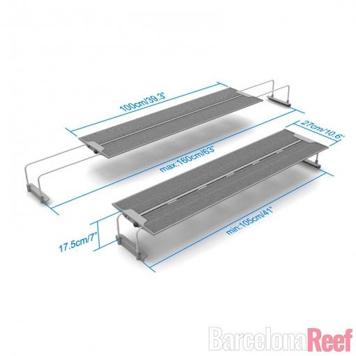 Pantalla LED MaxSpect R420R-115 para agua dulce para acuario marino | Barcelona Reef